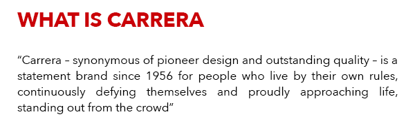 What is Carrera