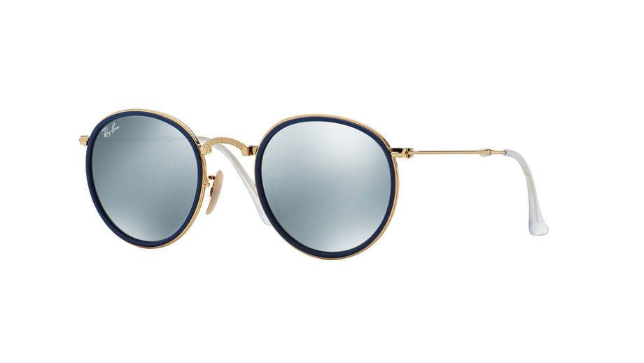 0732e0f2a8d3a RAYBAN-RB3517  001 30-sunglasses-optikaliolios. Ray-Ban RB 3517 001 30 ROUND  FOLDING ...