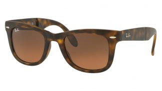Ray-Ban RB 4105 894/43 FOLDING WAYFARER